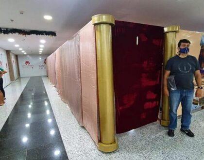 В торговом центре Бразилии прошла выставка о святилище